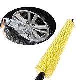 Verlike Car Wheel Brush Practical Handle Yellow Sponge...