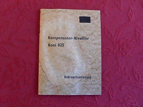 *KOMPENSATOR-NIVELLIER KONI 025*