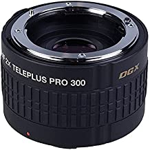 Kenko PRO 300 DGX Canon EOS EF - Convertor tele para cámaras Canon-EOS, Nikon-AF, negro