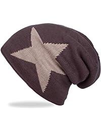 ANVEY Beanie Hat Cappello in Maglia Casual Invernali Berretti Slouch Beanie  Berretto Neutrale Unisex Cappelli Uomo 44c6989e5737