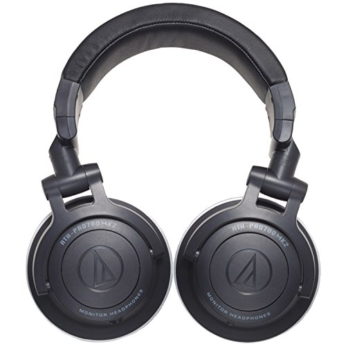 אוזניות ! Audio-Technica ATH-PRO700MK2 Professional DJ Monitor Headphones