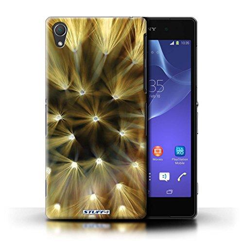 Kobalt® Imprimé Etui / Coque pour Sony Xperia Z2 / Rose conception / Série Couleur/Lumière Fleur Jaune