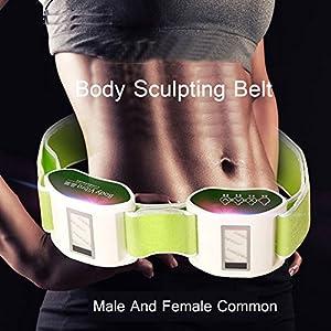 Dmfhqj Massagegrtel Abnehmen Elektrische Vibrierende Taille Massag Frdert Muskelaufbau Fettabbau Gewicht Zu Verlieren Fr Bauch Taille Massagegert Massage