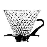 TEAHOM Permanent Kaffeefilter Spülmaschinengeeignet Klassische und alt bewährte Zubereitung für besonders