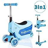 Baobë 3-in-1 Kleinkinder Roller Scooter 3-Räder -Tretroller für Jungen Mädchen mit...