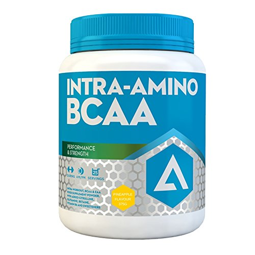 51EPmb3vP7L. SS500  - ADAPT NUTRITION Intra-Amino BCAA Pineapple Capsules, 375 g