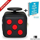 NW supplies Fidget Cube - Gadget / Toy Against Stress, Restless Hands, Perfect for Nervous Fingers for Distraction, Know