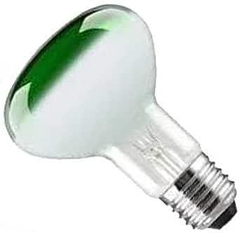Crompton Screw Lamp bulb Light R64 40W ES//E27 GREEN Reflector Spot Pack of 1