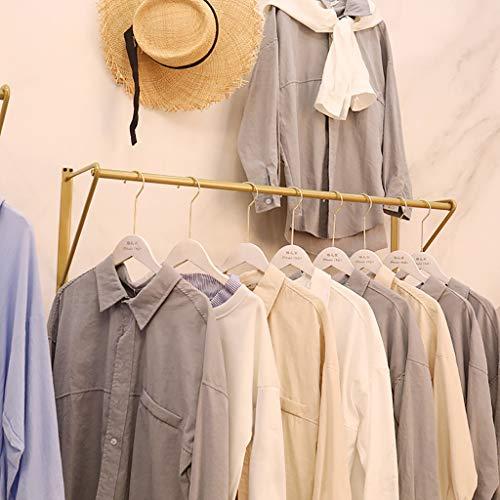 Einfache Eisen Kleiderständer, Wandhalterung Kleiderständer, hängende Lagerung Kleiderständer, Handtuchhalter (Size : 80x25x29cm) (Wandhalterung Tie Rack)