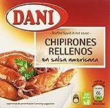Dani Chipirones Rellenos en Salsa Americana - 148 g