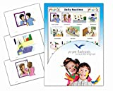 Daily Routines Flash Cards for Language Development - English Vocabulary Cards