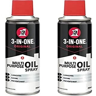 3 in 1 Aerosol Spray 2 Can Oil by WD40 Multi Purpose Penetrant Lubricant 44006