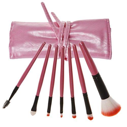 Internet 7 Pcs Pinceau Cosmétique de Maquillage Avec PU Sac