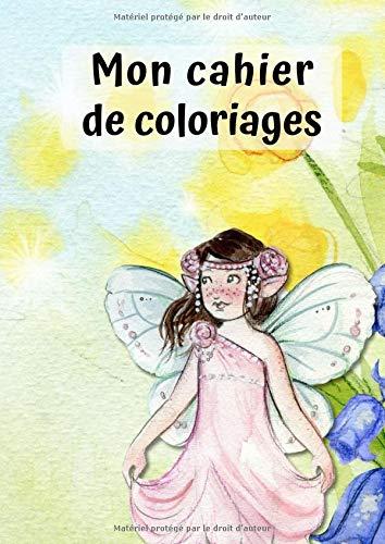 Mon Cahier de Coloriages: Petite Fée No. 1 | 30 Pages | Blanc | Idée Cadeau par  Petit Livre de Coloriage