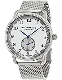 Stuhrling Original Analog White Dial Men's Watch - 207M.01