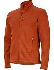 Marmot Herren 's Drop Line Fleece Jacke