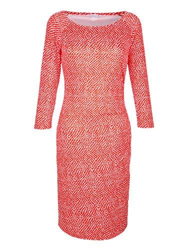Alba Moda Damen Kleid Koralle 40