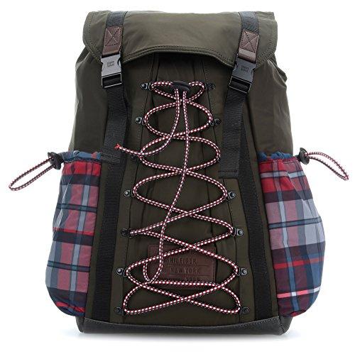 Preisvergleich Produktbild Tommy Hilfiger TH Hiking 17'' Laptop-Rucksack olivgrün