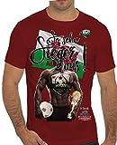 Stylotex Slimfit Fashion T-Shirt So sehn Sieger aus Guy Wales, Farbe:rot;Größe:XL