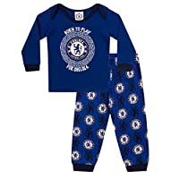 Chelsea FC Official Football Gift Boys Kids Baby Pyjamas