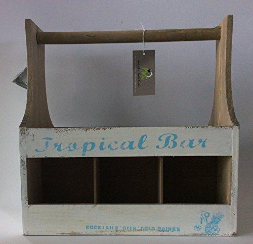 Pide X esa Boca Tropical Bar Caja Porta Botellas con Asa y...
