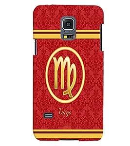 Fuson 3D Printed Sunsign Virgo Designer back case cover for Samsung Galaxy S5 Mini - D4394