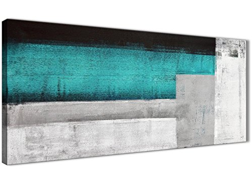 Color azul turquesa gris pintura dormitorio accesorios