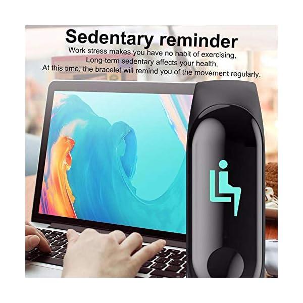 Smartwatch M3 Plus Heart Rate Fitness Tracker SmartBand OLED Smart Wrist Sports Pulsera Pantalla Colorida 8
