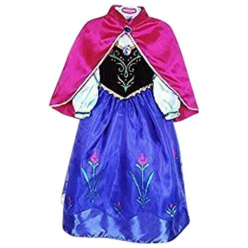 Imagen de live it estilo it vestido de princesa de disfraz de cosplay disfraz princesa de hielo fiesta ana elsa inspirada