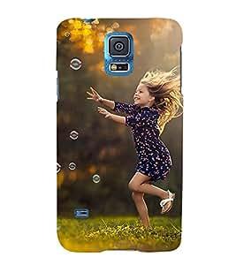 PrintVisa Designer Back Case Cover for Samsung Galaxy S5 Neo :: Samsung Galaxy S5 Neo G903F :: Samsung Galaxy S5 Neo G903W (amazing playing refresh lady girl)
