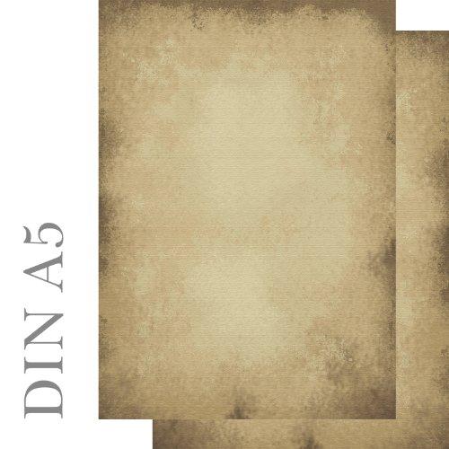 Lot de 100 feuilles de Papier à lettres design vieux Papier format DIN A5