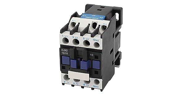 CJX2-1810 380V Spule 3 Pole Phase 3P 1NO Schalter 32A 660V AC Schütz ...