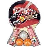 #6: 1 Star Table Tennis Racquet Set Of 2 Bats 3 Balls