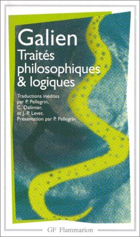 Oeuvres philosophiques et logiques
