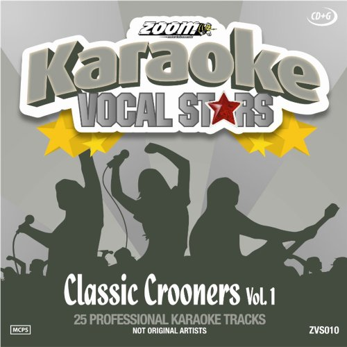 Image of Zoom Karaoke CD+G - Classic Crooners 1 - Vocal Stars Karaoke Series ZVS010