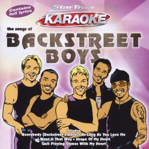 The Songs Of Backstreet Boys: StarTrax Karaoke by Backstreet Boys (2001-10-22) (Boys Backstreet Karaoke-cds)