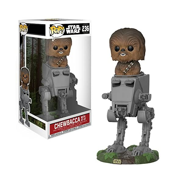 Funko Pop Chewbacca en AT-ST (Star Wars 236) Funko Pop Star Wars