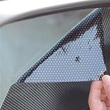 LKXHarleya Set di 2 Adesivi per Auto Anti UV Adesivi Parasole di Estate Autoadesivo di Raffreddamento Solare