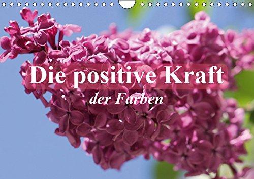 Die positive Kraft der Farben (Wandkalender 2019 DIN A4 quer): Farben geben Kraft und sie bestimmen unser Lebensgefühl! (Monatskalender, 14 Seiten ) (CALVENDO Menschen)