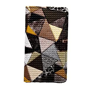 SKYANK PU Leather Flip Cover For Micromax Canvas 4 A210