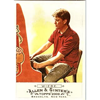 2009 Topps Allen & Ginter Baseball Card #24 Steve Wiebe Donkey Kong Champion - MINT Condition - Shipped In