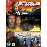 Master and Commander/Braveheart/Dances With Wolves