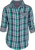 Gini & Jony Girls' Shirt (112030210863 1183_Harbor Blue_9 - 10 years)