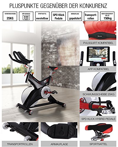 Sportstech Profi Indoor Cycle SX500 - 2