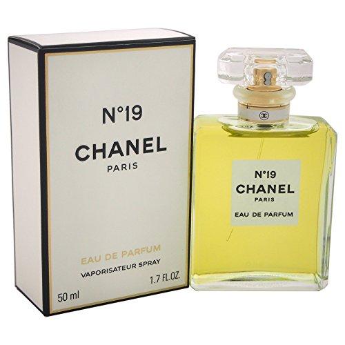 Chanel No, 19 Eau de Parfum Spray, 1er Pack, (1x 50 ml) -