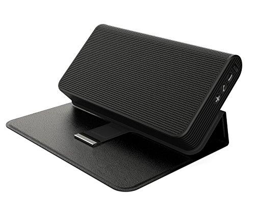 2in1 Design- Premium Bluetooth Lautsprecher und Zusatzakku in einem - Schwarz