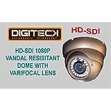 G7F–Dernière HD-SDI 1080p Full HD Dôme IR résistant au vandalisme avec objectif varifocal 1/7,6cm Zoom numérique 8x
