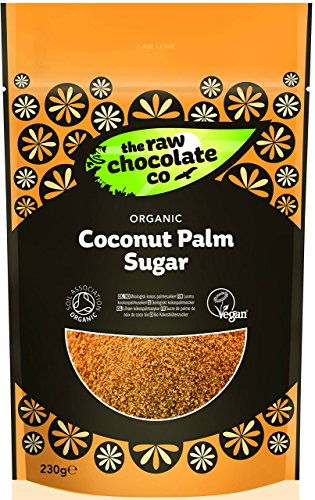 The Raw Chocolate Company Organic Coconut Palm Sugar 250 g Flower Sugar Collection