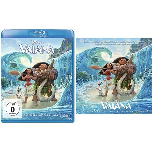 Vaiana [Blu-ray] + Vaiana - Deutscher Original Film-Soundtrack (Deutsche Version)
