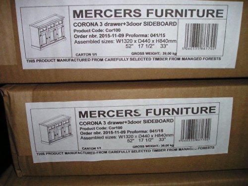 Mercers Furniture Corona 3-Door ...